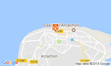 Mapa Arcachon Apartamento 113009