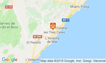Mapa La Ametlla de Mar Villa 118601