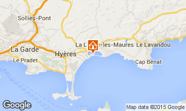 Mapa Hyères Apartamento 28370