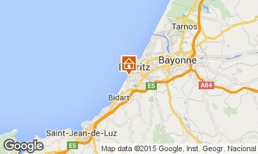 Mapa Biarritz Apartamento 61240