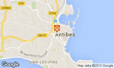 Mapa Antibes Mobil home 5443