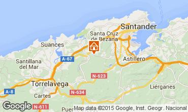 Mapa Santander Apartamento 46575