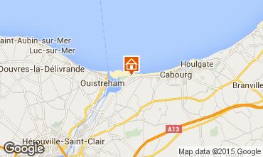 Mapa Cabourg Apartamento 62026