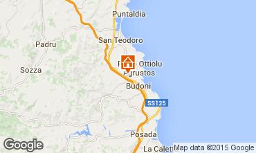 Mapa San Teodoro Apartamento 83258