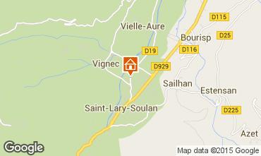 Mapa Saint Lary Soulan Apartamento 4391