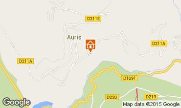 Mapa Auris en Oisans Casa 371