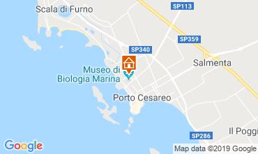 Mapa Porto Cesareo Apartamento 83720