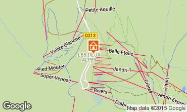 Mapa Les 2 Alpes Apartamento 26960