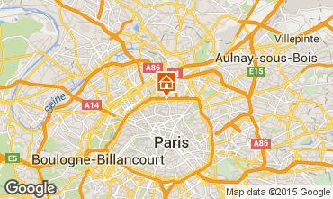 Mapa PARÍS Apartamento 13743