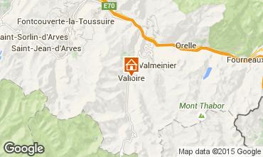 Mapa Valloire Apartamento 63310