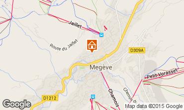 Mapa Megève Apartamento 1470