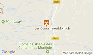 Mapa Les Contamines Montjoie Apartamento 111733