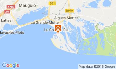 Mapa Le Grau du Roi Villa 90171