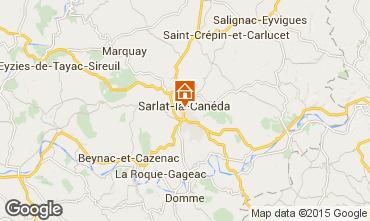 Mapa Sarlat Casa rural 99820