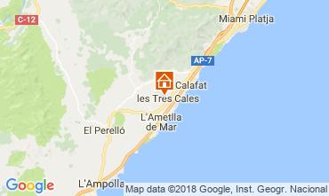 Mapa La Ametlla de Mar Casa 39903