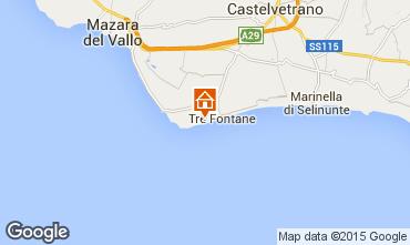 Mapa Tre Fontane Apartamento 78356