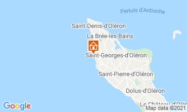 Mapa Saint Georges d'Oléron Casa 117753