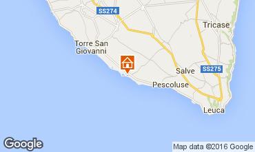 Mapa Lido Marini Villa 86623