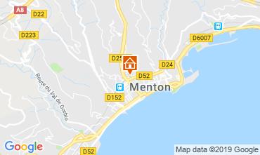 Mapa Menton Apartamento 66868