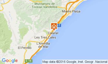 Mapa La Ametlla de Mar Villa 82117