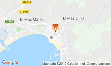 Mapa Rosas Apartamento 78804