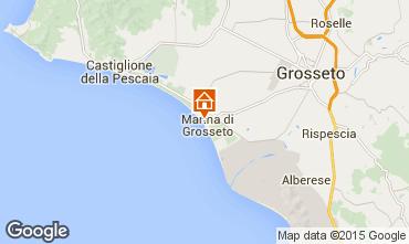 Mapa Marina di Grosseto Apartamento 82312