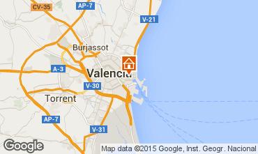 Mapa Valencia Apartamento 72516