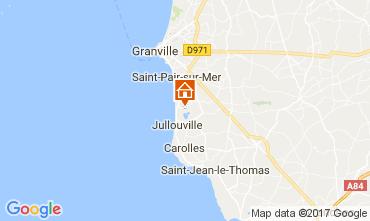 Mapa Monte San Michel Apartamento 14523