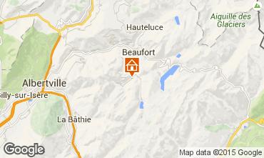 Mapa Areches Beaufort Apartamento 74478