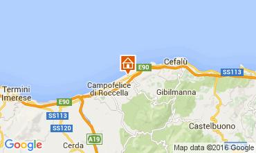Mapa Cefal� Villa 76789