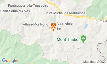 Mapa Valloire Estudio 3428