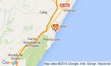 Mapa Peñíscola Apartamento 105380