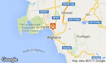 Mapa Alghero Apartamento 43548