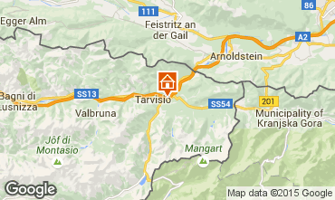 Mapa Tarvisio Chalet 24766