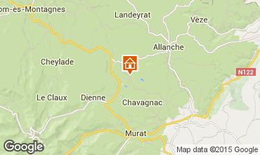 Mapa Le Lioran Casa rural 91413