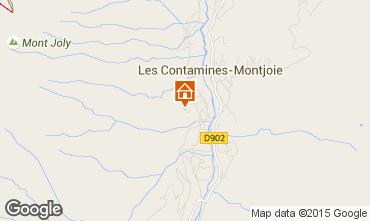 Mapa Les Contamines Montjoie Chalet 50772