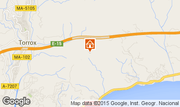 Mapa Nerja Casa rural 74116