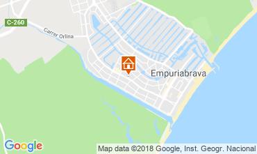 Mapa Ampuriabrava Villa 116120