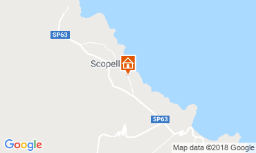 Mapa Scopello Villa 117032