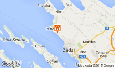 Mapa Zadar Apartamento 44376