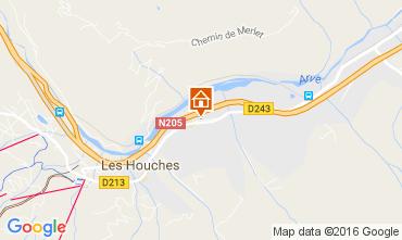Mapa Chamonix Mont-Blanc Apartamento 1407