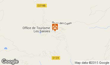 Mapa Les Saisies Estudio 73974