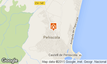 Mapa Pe��scola Villa 74023