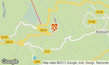 Mapa Font Romeu Apartamento 4135
