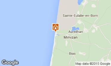 Mapa Mimizan Apartamento 6527