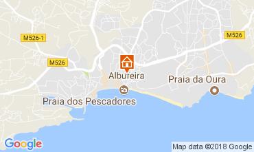 Mapa Albufeira Apartamento 113295