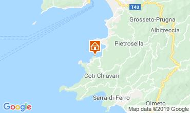 Mapa Porticcio Villa 118013