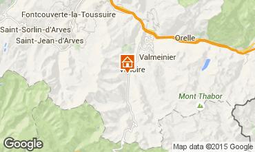 Mapa Valloire Chalet 49295