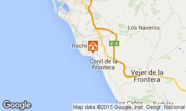 Mapa Conil de la Frontera Villa 97575