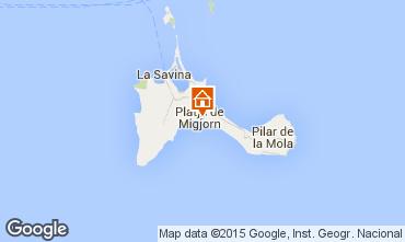 Mapa Formentera Apartamento 76917